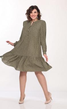 Dress Vilena-fashion 695 zel