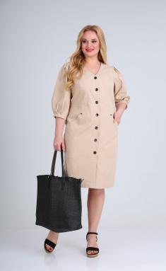 Dress Vilena-fashion 697 bezh