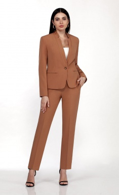 Suit Vilena-fashion 701 karamel