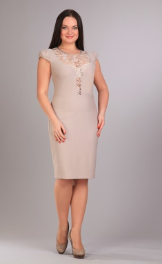 Dress IVA 0701 bezh
