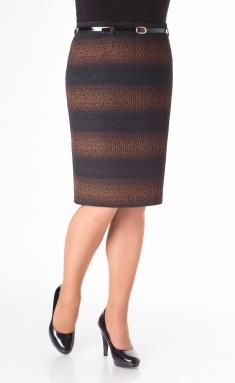 Skirt Elite Moda 3314 korichn