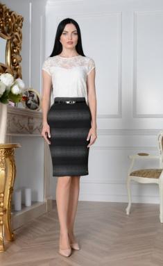 Skirt Elite Moda 3314 seryj