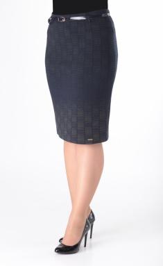 Skirt Elite Moda 3299 sinij