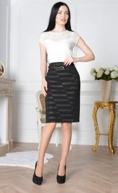 Skirt Elite Moda 3408 chern