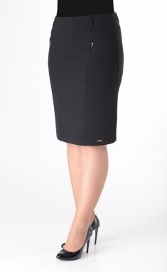 Skirt Elite Moda 3078 chernyj