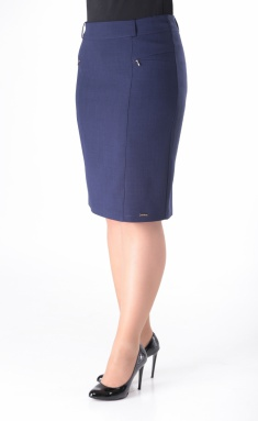 Skirt Elite Moda 3078 sinij