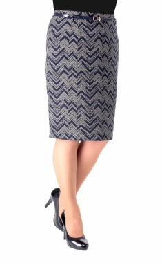Skirt Elite Moda 3190 sinij