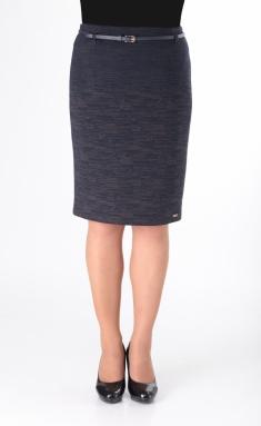 Skirt Elite Moda 3456 sine-korichn