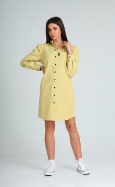 Dress Vilena-fashion 707 sv.zhel