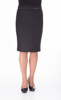 Skirt Elite Moda 3447 grafit