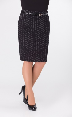 Skirt Elite Moda 3488 chern