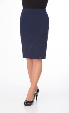 Skirt Elite Moda 3506 sinij