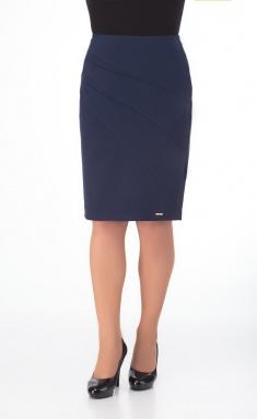 Skirt Elite Moda 3493 sinij