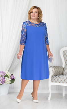 Dress Ninele 7201 vasilek