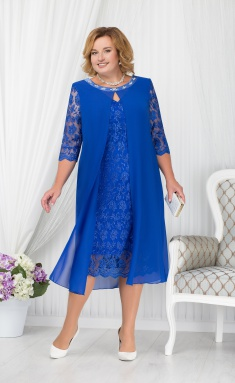 Dress Ninele 7204 vasilek