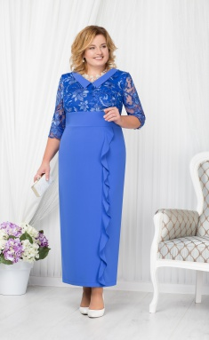 Dress Ninele 7206 vasilek