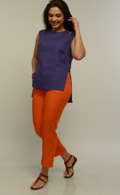 Set MALI 721-036 fiolet+oranzh