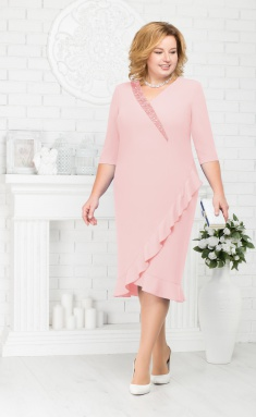 Dress Ninele 7211 pudra