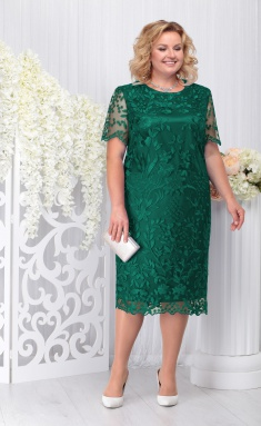 Dress Ninele 7231 izumrud