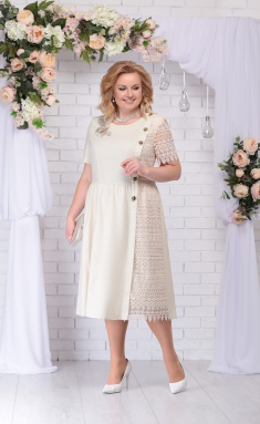 Dress Sale 7235 bezhevyj