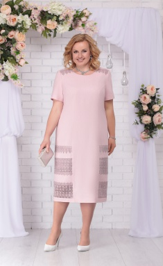 Dress Ninele 7237 pudra