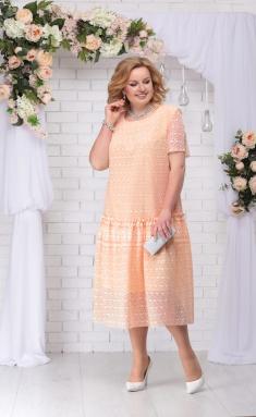 Dress Ninele 7241 persik