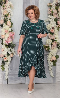 Dress Ninele 7278 izumr