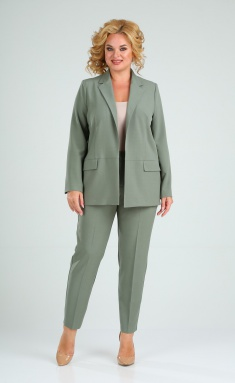 Suit Vilena-fashion 727 oliva