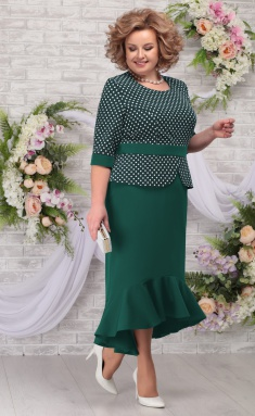 Dress Ninele 7280 izumr