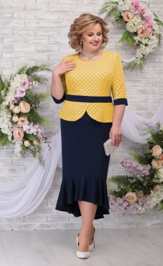 Dress Ninele 7280 zhelt/sin