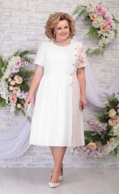 Dress Ninele 7285 moloko + pudr