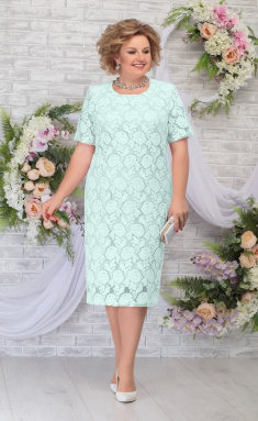 Dress Ninele 7286 svetlo-zel