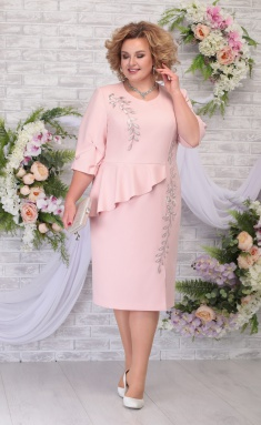 Dress Ninele 7287 pudr