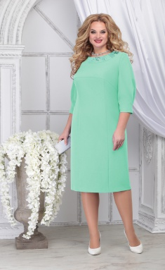 Dress Ninele 7309 svetlo-zel