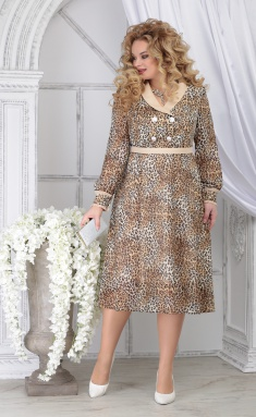 Dress Ninele 7312 leopard