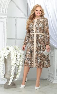 Dress Ninele 7313 leopard