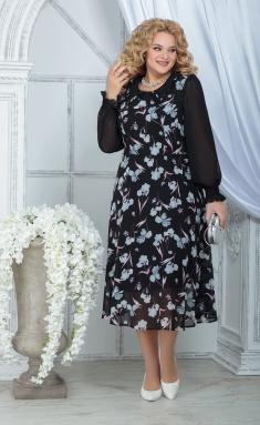 Dress Ninele 7316 chern + irisy