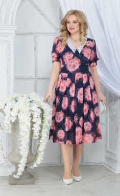 Dress Ninele 7318 krasnye rozy
