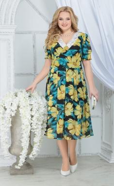 Dress Ninele 7318 zheltye romashki