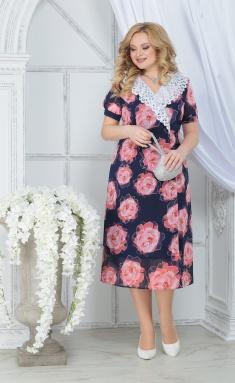 Dress Ninele 7319 krasnye rozy