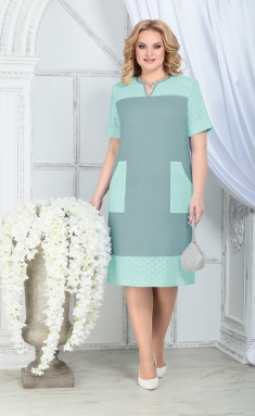 Dress Ninele 7326 svetlo-zel
