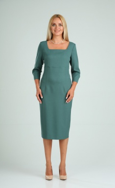 Dress Vilena-fashion 732 malaxit