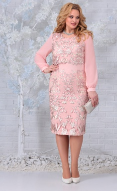 Dress Ninele 7331 pudr