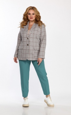 Set Vilena-fashion 733 kletka+myata
