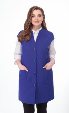 Waistcoat Elite Moda 2251 vasilek
