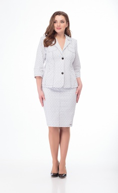 Suit Elite Moda 4081/3239 belyj