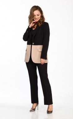 Suit Vilena-fashion 743 cher+bezh
