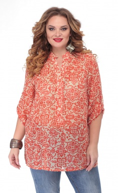 Blouse BelElStyle 745 oranzh