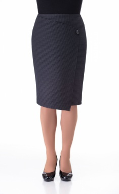 Skirt Elite Moda 3373 seraya kletka