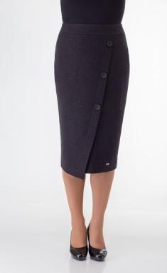 Skirt Elite Moda 3467 chern melanzh